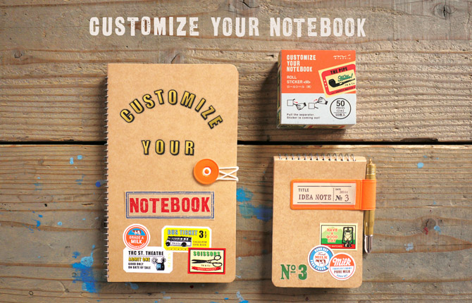 customize your note book